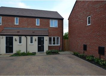 Thumbnail 3 bed semi-detached house for sale in Rowthorne Close, Northampton
