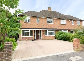 Thumbnail 4 bed semi-detached house to rent in Denton Grove, Walton-On-Thames