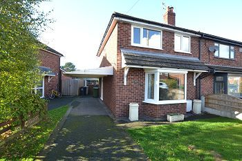 Thumbnail 3 bed semi-detached house to rent in Wingfield Avenue, Wilmslow
