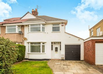 Thumbnail 3 bed semi-detached house for sale in Duncan Drive, Greasby, Wirral