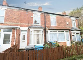 Thumbnail 2 bed terraced house for sale in Sherwood Avenue, Welbeck Street, Hull