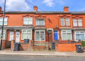 Thumbnail 3 bedroom terraced house for sale in Portland Road, Edgbaston