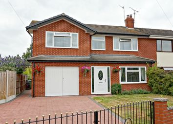 Thumbnail 4 bed semi-detached house for sale in Hazlitt Place, Wem, Shrewsbury