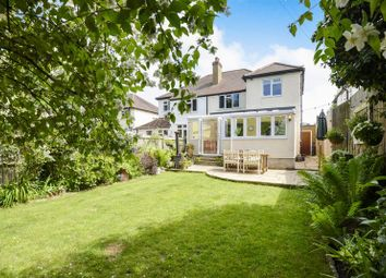 Thumbnail 4 bed semi-detached house for sale in Woodlands Avenue, West Byfleet