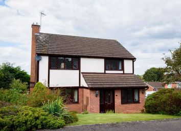 Thumbnail 4 bed detached house for sale in Redwood Close, Ross-On-Wye