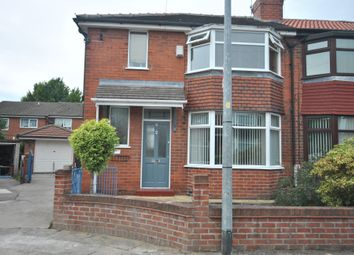 Thumbnail 3 bed semi-detached house for sale in Adamson Road, Eccles Manchester