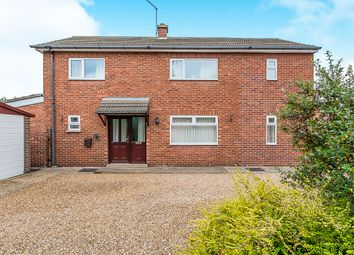 Thumbnail 3 bedroom detached house for sale in Plough Road, Whittlesey, Peterborough
