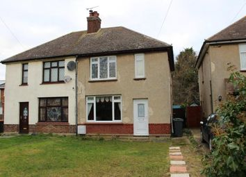 Thumbnail 2 bed semi-detached house to rent in Wood Lane, Cotton End