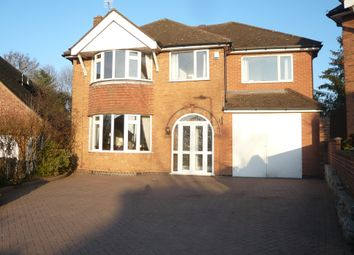 Thumbnail 5 bed detached house for sale in Wintersdale Road, Off Uppingham Road, Leicester