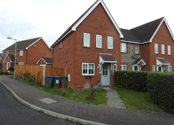 Thumbnail 3 bed end terrace house for sale in Tennyson Road, Saxmundham, Suffolk
