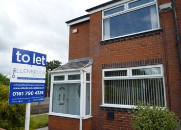 Thumbnail 2 bed semi-detached house to rent in Highfield Road, Prestwich, Manchester