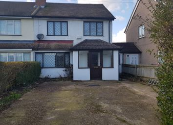 Thumbnail 4 bed semi-detached house to rent in Uxbridge Road, Slough