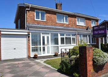3 bed semi-detached house for sale in Riversdale Avenue, Choppington NE62
