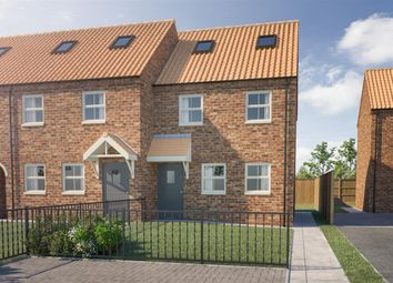 Thumbnail 3 bed end terrace house for sale in Church Lane, Crowle, Scunthorpe