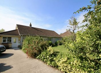 Thumbnail 3 bed detached bungalow for sale in Somerton Road, Street