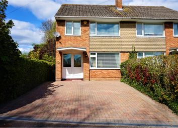 Thumbnail 3 bed semi-detached house for sale in Packenham Road, Basingstoke