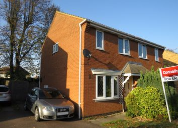 Thumbnail 2 bed semi-detached house for sale in Symonds Road, Hitchin