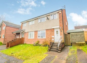 Thumbnail 3 bedroom semi-detached house for sale in Blethin Close, Danescourt, Cardiff
