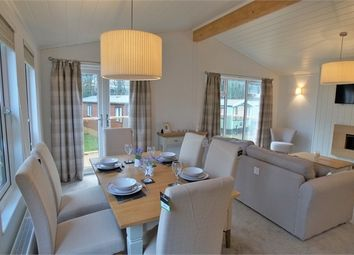 Thumbnail 2 bed mobile/park home for sale in Cambrian Plantation Lodge, Gatebeck Caravan Park, Endmoor, Kendal, Cumbria