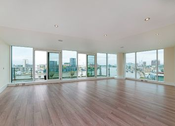 Thumbnail 3 bed flat to rent in Baltimore House, Battersea Reach