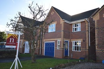 Thumbnail 3 bed detached house for sale in Richardson Close, Elworth, Sandbach