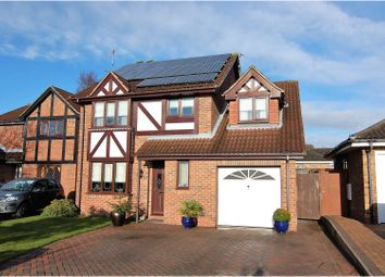 Thumbnail 4 bed detached house for sale in Brompton Way, West Bridgford