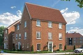 Thumbnail 3 bedroom terraced house for sale in St Georges Place, Sprowston, Norwich, Norfolk