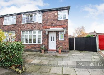 Thumbnail 3 bed semi-detached house for sale in Humphrey Crescent, Urmston, Manchester