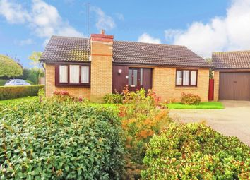 Thumbnail 2 bed detached bungalow for sale in Roundhills Way, Sawtry, Huntingdon