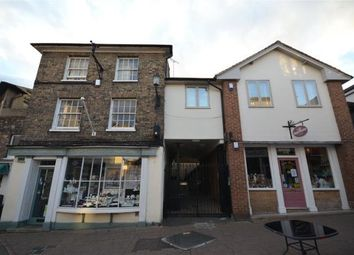 Thumbnail 2 bed flat for sale in Cross Street, Saffron Walden, Essex