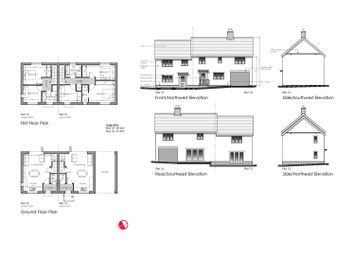 2 bed semi-detached house for sale in Luff Meadow, Stowmarket Road, Needham Market, Ipswich IP6