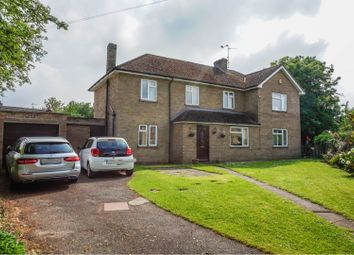 Thumbnail 4 bed detached house for sale in West Street, Helpston