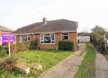 Thumbnail 3 bed semi-detached bungalow for sale in Willow Road, North Hykeham