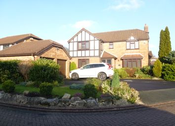 Thumbnail 4 bed detached house for sale in Applefields, Leyland