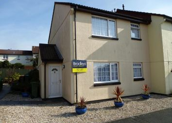 Thumbnail 1 bed end terrace house to rent in Buddle Close, Plymstock, Plymouth, Devon