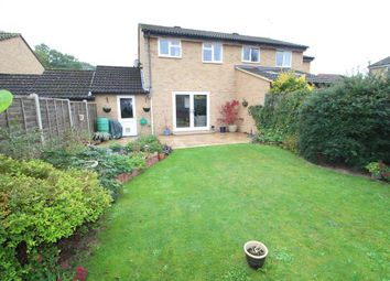 Thumbnail 3 bed semi-detached house for sale in Wargrove Drive, College Town, Sandhurst