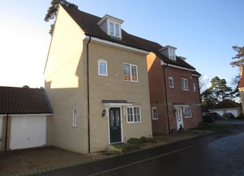 3 bed link-detached house for sale in Hastings Close, Thetford IP24