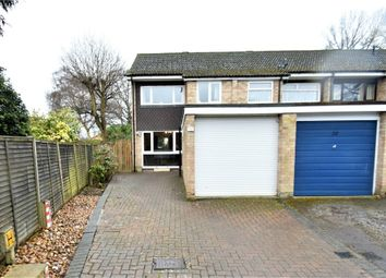 Thumbnail 3 bed semi-detached house for sale in Leonard Close, Frimley, Camberley, Surrey