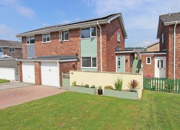 Thumbnail 3 bed semi-detached house for sale in Hogarth Close, Elburton, Plymouth, Devon