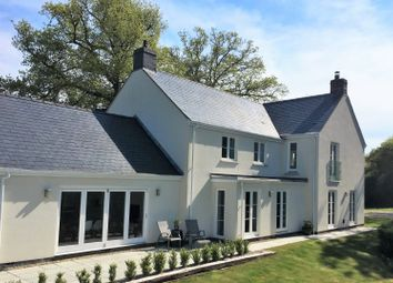 Thumbnail 4 bed detached house for sale in Coed Y Caerau Lane, Kemeys Inferior, Newport