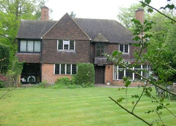 Thumbnail 4 bed detached house to rent in Woodside Road, Beaconsfield