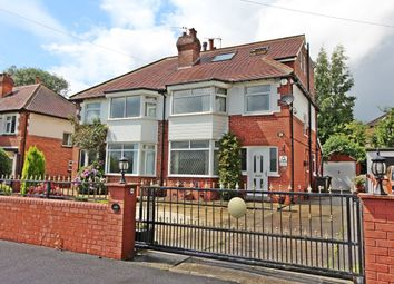 Thumbnail 4 bedroom semi-detached house for sale in Stonegate Road, Meanwood, Leeds