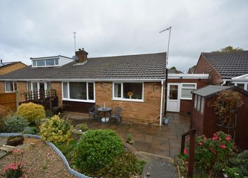 Thumbnail 2 bed semi-detached bungalow for sale in Cromford Close, North Wingfield, Chesterfield