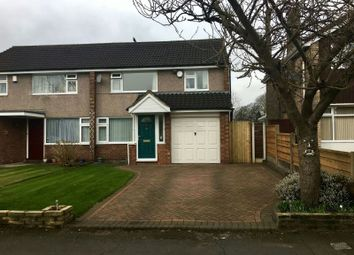 Thumbnail 3 bed semi-detached house for sale in Briony Avenue, Hale, Altrincham