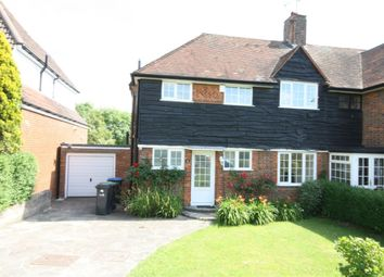 Thumbnail 3 bed semi-detached house to rent in Cotswold Way, Enfield