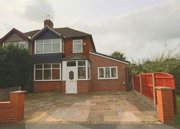 Thumbnail 4 bed semi-detached house for sale in Parkthorn Road, Lea, Preston