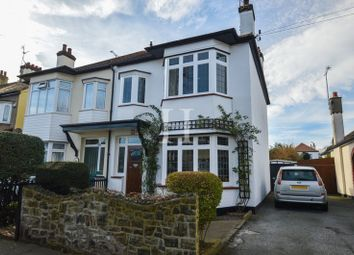 Thumbnail 3 bedroom semi-detached house for sale in Crowborough Road, Southend-On-Sea, Essex