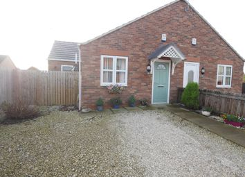 Thumbnail 2 bed semi-detached bungalow for sale in Hailgate, Howden, Goole