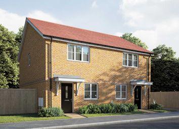 "Thumbnail 2 bed semi-detached house for sale in ""The Cartwright"" at Berengrave Lane, Rainham, Gillingham"