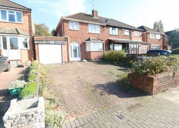 Thumbnail 3 bed semi-detached house for sale in Craythorne Avenue, Handsworth Wood, West Midlands